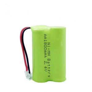 Baterî ya NiMH Rechargeable AA1800mAh 2.4V