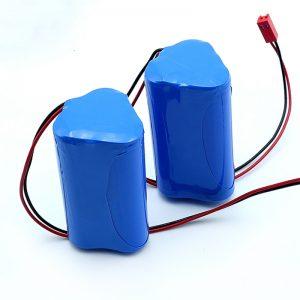 Li-ion 3S1P 18650 10.8v 2250mah Lîtium ion battery pack ji bo amûra bijîşkî