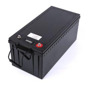Bateriya xwerû ya 24V 100AH 12v 200ah lîpa pack4 bataryayê ji bo barkirina enerjiya rojê RV