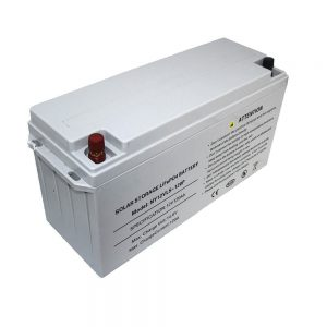 Enerjiya Storage LiFePO4 Battery 12V 80Ah Battery Solar for Power Supplies