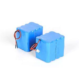 Bateriya lîtiumê şarjkirî ya xwerû 18650 paketa bataryayê ya 3s4p 12v bilind a valakirinê