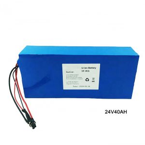 Electric Bike Bicycle 24 Volt Lithium Battery 24V 40Ah NMC Li Ion Battery Pack Battery rechargeable ion litium