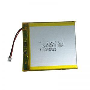 3.7V 2200mAh Battery lithium Polymer ji bo amûrên xaniyê malê