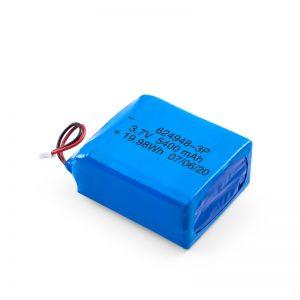 Baterîda Rechargeable LiPO 624948 3.7V 1800mAH / 3.7V 5400mAH