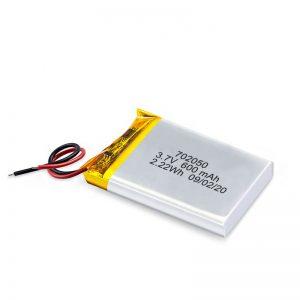 China Wholesale 3.7V 600Mah 650Mah Mini Li-Polymer Battery Lithium Battery Rechargeable Pack For Car Car