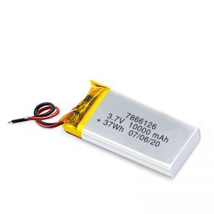 Baterîla Rechargeable LiPO 7866120 3.7V 10000mAh / 3.7V 20000mAH / 7.4V 10000mAh